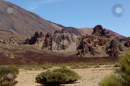 Mountain stock photo, Mountain of el teide in tenerife island by Rui Vale de Sousa