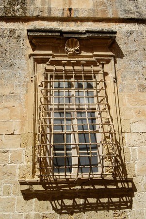Window stock photo, Gothic window house in the old city, Malta by Rui Vale de Sousa