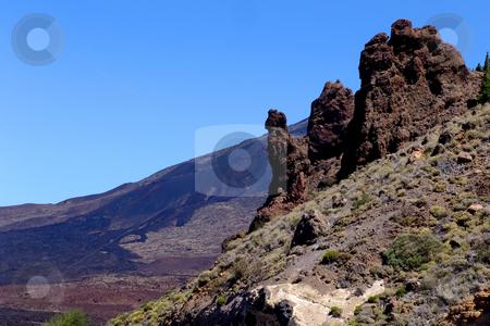 Mountain stock photo, Mountain of El teide in tenerife island, spain by Rui Vale de Sousa