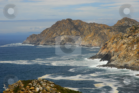 Coast stock photo, Limpid water of the Mediterranean - coast of spain by Rui Vale de Sousa