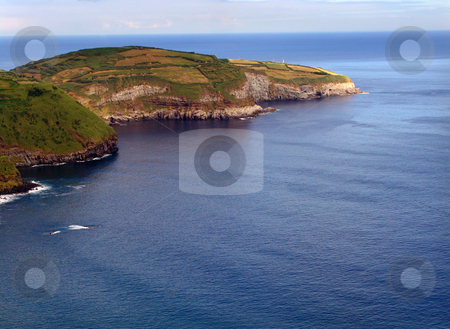 Island stock photo, Ocean and land by Rui Vale de Sousa