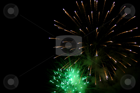 Fireworks stock photo, Fireworks in the sky by Rui Vale de Sousa