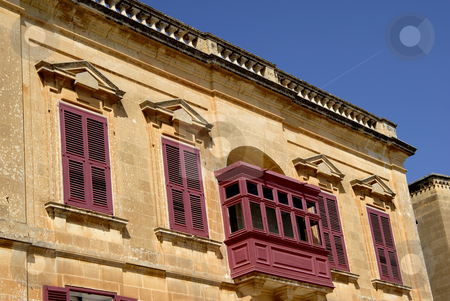 Building stock photo, Ancient building detail in the island of malta by Rui Vale de Sousa
