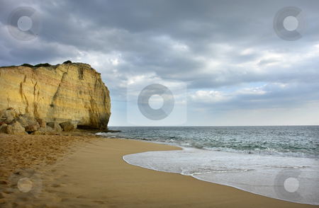 Beach stock photo, Small beach at algarve in the south of portugal by Rui Vale de Sousa