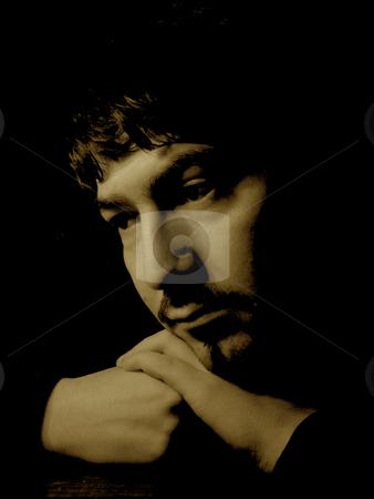 Sad stock photo, Sad boy portrait by Rui Vale de Sousa