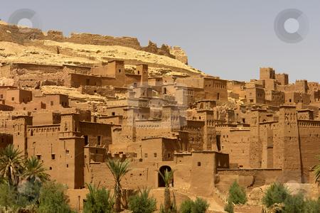 Benhaddou stock photo, Ancient city detail of ait benhaddou, morocco by Rui Vale de Sousa