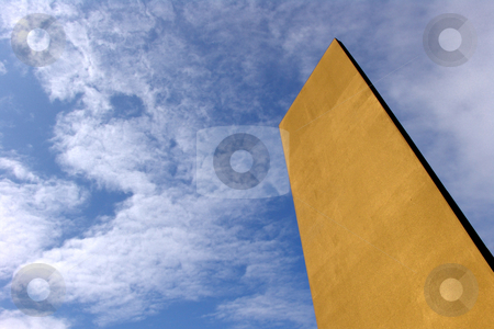 Block stock photo, Architecture detail and the sky as background by Rui Vale de Sousa