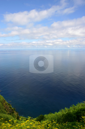 Ocean stock photo, The blue ocean of azores, at sao miguel island by Rui Vale de Sousa
