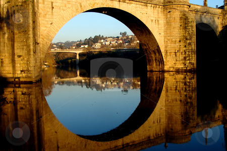 Bridge stock photo, Ancient bridge of amarante in the north of portugal by Rui Vale de Sousa