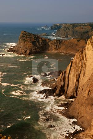 Coastal stock photo, Portuguese Algarve beach, the south of the country by Rui Vale de Sousa