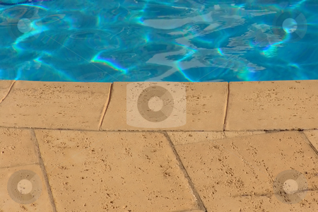 Pool stock photo, Swimming pool detail by Rui Vale de Sousa