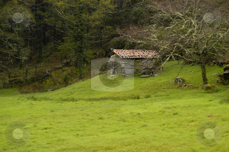 House stock photo, Small house in the top of the portuguese national park by Rui Vale de Sousa
