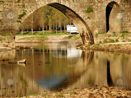 Bridge stock photo, Ancient bridge details by Rui Vale de Sousa