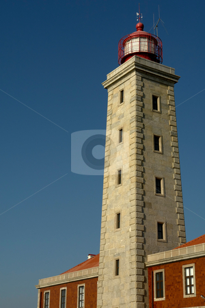 Lighthouse stock photo, Ancient portuguese lighthouse of S. Pedro of Moel by Rui Vale de Sousa