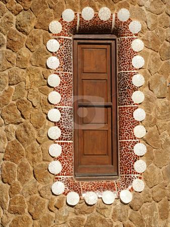 Gaudi stock photo, Gaudi house details by Rui Vale de Sousa