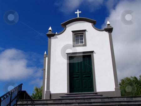 Church stock photo, Azores church by Rui Vale de Sousa