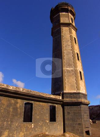 Capelinhos lighthouse stock photo, Capelinhos old lighthouse by Rui Vale de Sousa