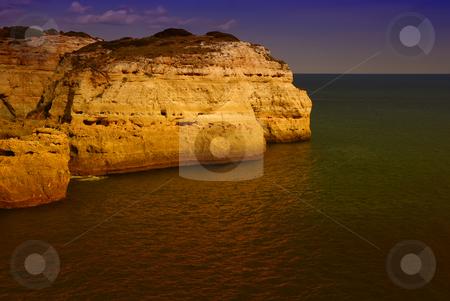Coast stock photo, Portuguese Algarve coast, the south of the country by Rui Vale de Sousa