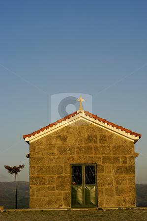 Chapel stock photo, Chapel in the mountain by Rui Vale de Sousa
