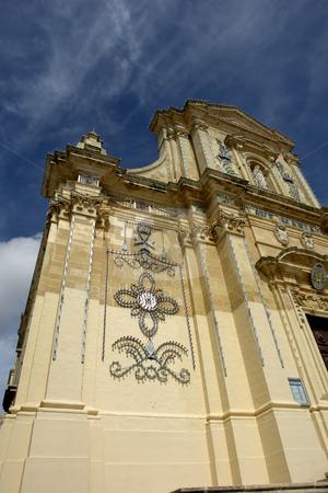 Church stock photo, Ancient church in malta at the island of gozo by Rui Vale de Sousa