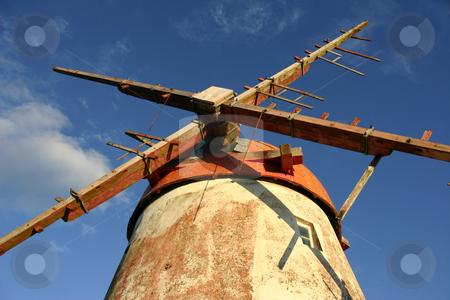 Windmill stock photo, Azores ancient windmill by Rui Vale de Sousa