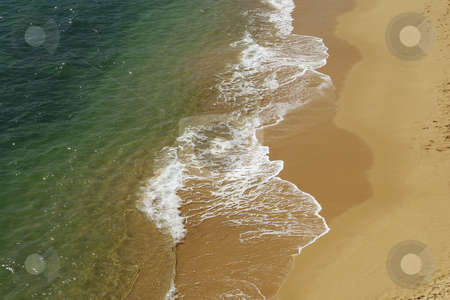 Beach stock photo, Wave detail on a beach at the south of portugal by Rui Vale de Sousa