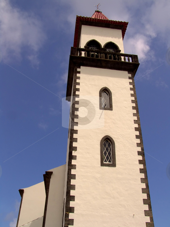 Church stock photo, Typical church of azores island of sao miguel by Rui Vale de Sousa