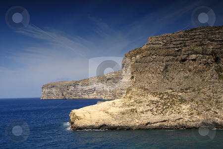 Coastal stock photo, Malta island coastal view at Gozo island by Rui Vale de Sousa