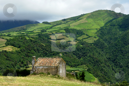 House stock photo, Old farm house at the azores hills by Rui Vale de Sousa