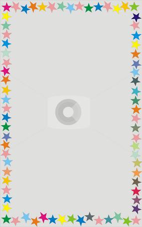 Stars stock photo, Star frame illustration by Rui Vale de Sousa