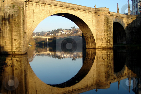 Bridge stock photo, Ancient roman bridge in the north of portugal by Rui Vale de Sousa