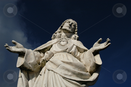 Love stock photo, Christ statue by Rui Vale de Sousa