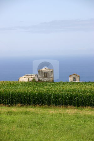 Farm stock photo, Farm house on the coast by Rui Vale de Sousa