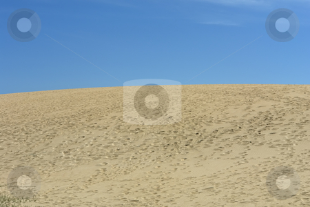Desert stock photo, Sand dunes of the north of spain by Rui Vale de Sousa