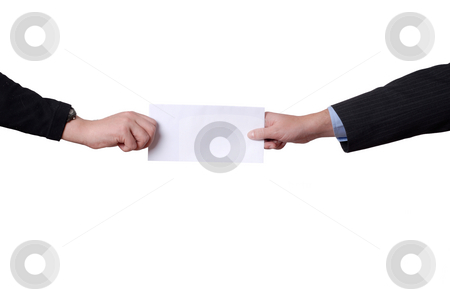 Add stock photo, Business men hands with a black card by Rui Vale de Sousa