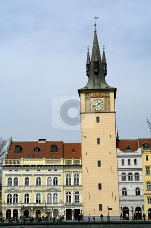 Architecture,  stock photo, Prague ancient buildings near the town river by Rui Vale de Sousa