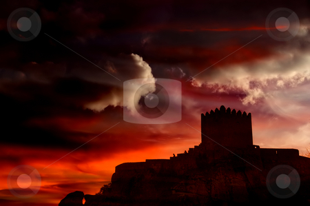 Castle stock photo, Castle of Sortelha in the mountains of portugal by Rui Vale de Sousa