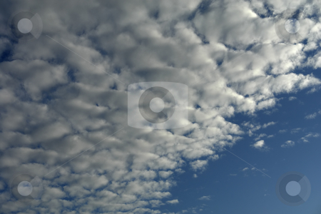 Clouds stock photo, Abstract white clouds at the blue sky by Rui Vale de Sousa
