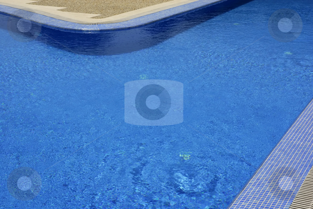Pool stock photo, Swimming pool details with blue water textures by Rui Vale de Sousa