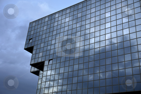 Glass stock photo, Modern building detail by Rui Vale de Sousa