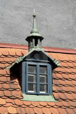 Window stock photo, Prague building detail by Rui Vale de Sousa