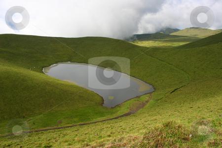 Lake stock photo, Azores small lake by Rui Vale de Sousa