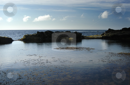 Blue stock photo, Coastal view of azores by Rui Vale de Sousa