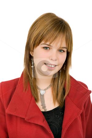 Blond stock photo, Young casual blonde woman close up portrait by Rui Vale de Sousa