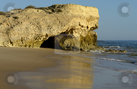 Beach stock photo, Algarve natural beach at the south of portugal by Rui Vale de Sousa