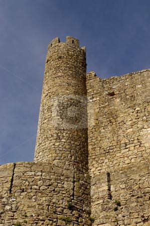 Castle stock photo, Portugal Obidos, medieval ancient castle near Lisbon by Rui Vale de Sousa