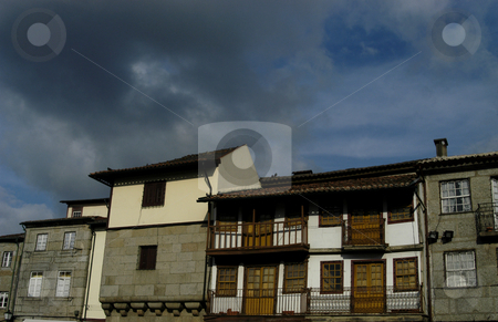 Houses stock photo, Houses details by Rui Vale de Sousa