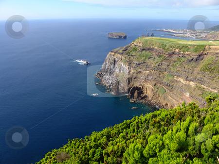 Coast stock photo, Azores coast by Rui Vale de Sousa