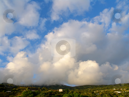 Clouds stock photo, Clouds over azores by Rui Vale de Sousa