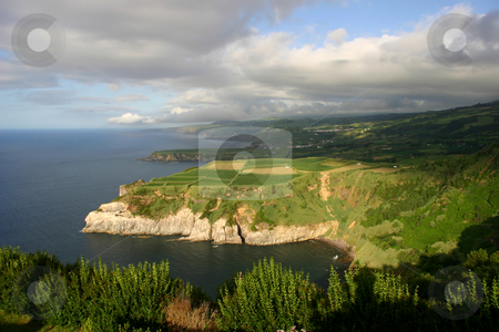 Coast stock photo, Azores coastal view by Rui Vale de Sousa